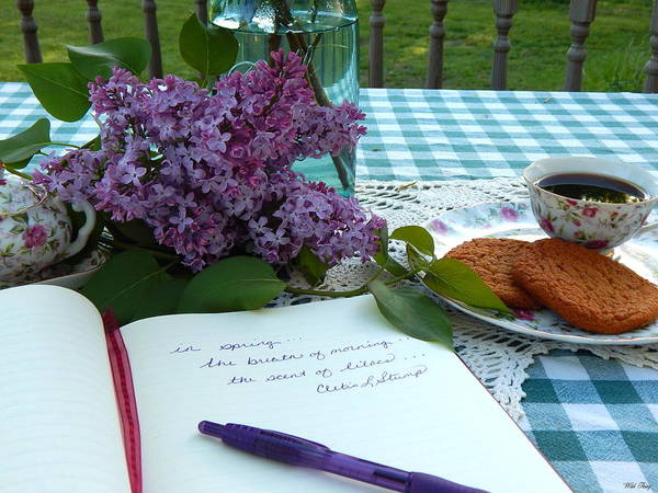 Photograph - Scent Of Lilacs by Wild Thing