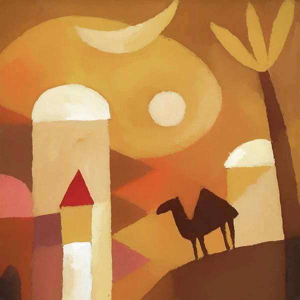 Painting - Scheherazade by Lutz Baar