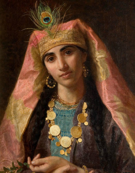 Wall Art - Painting - Scheherazade by Sophie Gengembre Anderson