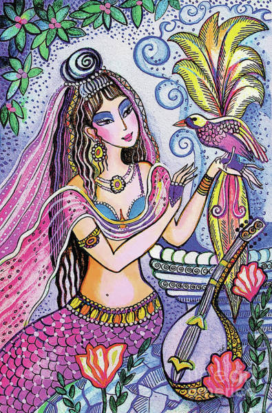 Painting - Scheherazade's Bird by Eva Campbell
