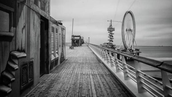 Scheveningen Pier Photograph - Scheveningen #1272 by Daan Overkleeft