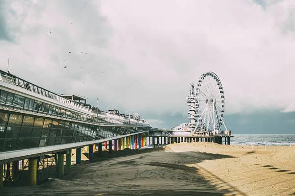 Scheveningen Photograph - Scheveningen Beach by Pati Photography