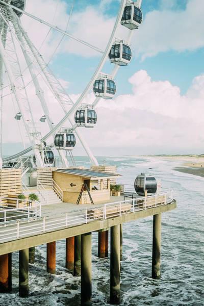Scheveningen Photograph - Scheveningen Ferris Wheel by Pati Photography