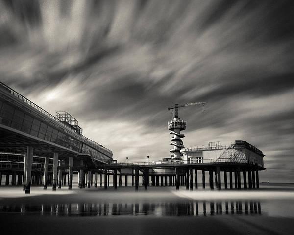 Wall Art - Photograph - Scheveningen Pier 2 by Dave Bowman
