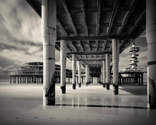 Wall Art - Photograph - Scheveningen Pier 3 by Dave Bowman