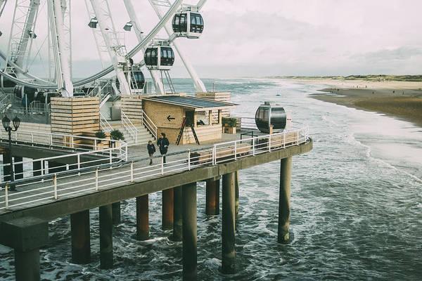 Scheveningen Photograph - Scheveningen Pier Ferris Wheel by Pati Photography