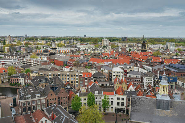 Photograph - Schiedam, Netherlands Panorama by Alexandre Rotenberg