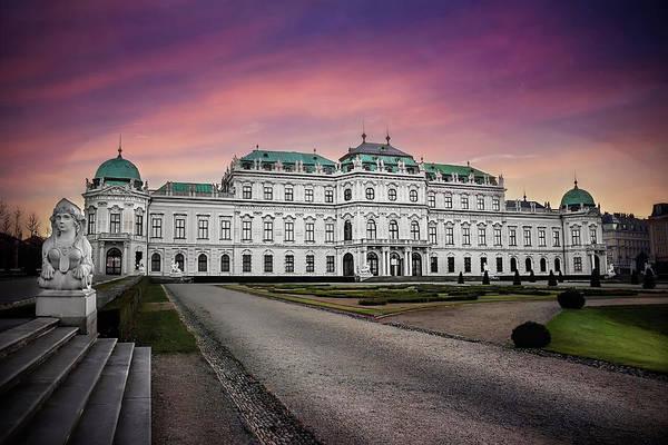 Vienna Photograph - Schloss Belvedere Vienna by Carol Japp