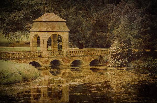 Photograph - Juchen, Germany - Schloss Dyck Baroque Bridge II by Mark Forte