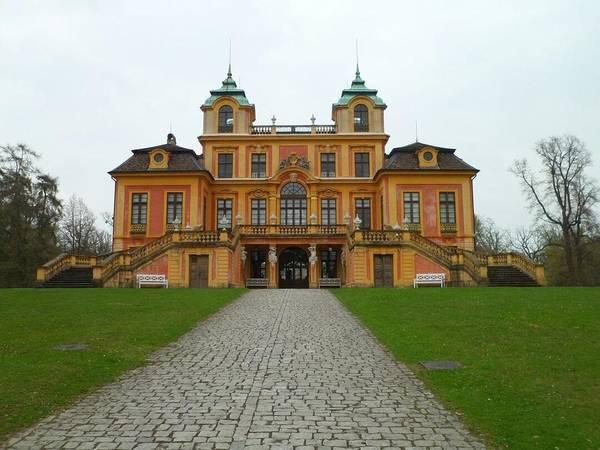 Photograph - Schloss Favorite, Ludwigsburg, Stuttgart, Germany by Samuel Pye