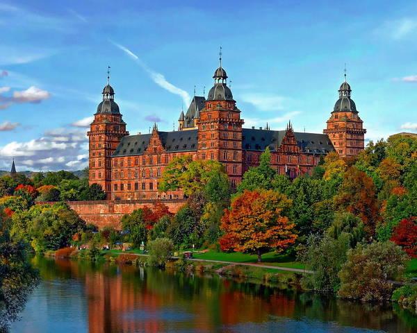 Photograph - Schloss Johannisburg by Anthony Dezenzio