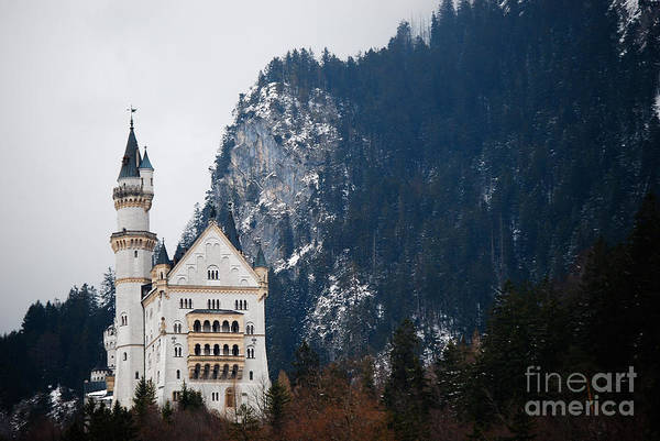 Cesar Wall Art - Photograph - Schloss Neuschwanstein by Cesar Marino