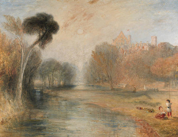 Painting - Schloss Rosenau Coburg by Joseph Mallord William Turner