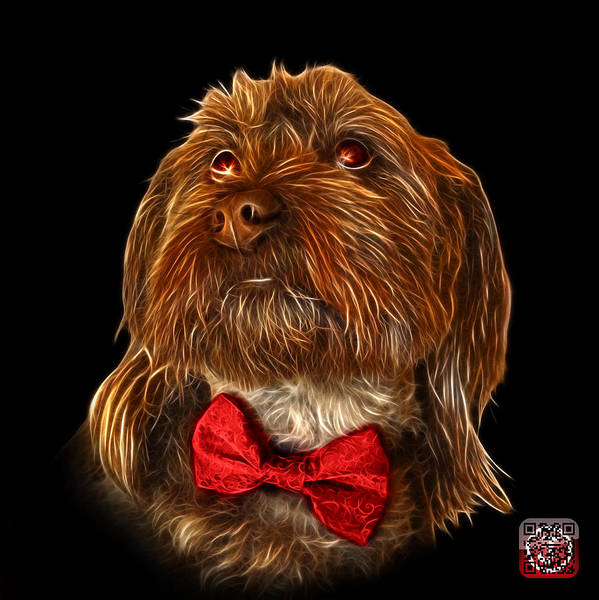 Painting - Schnoodle Pop Art 3687 - Bb by James Ahn
