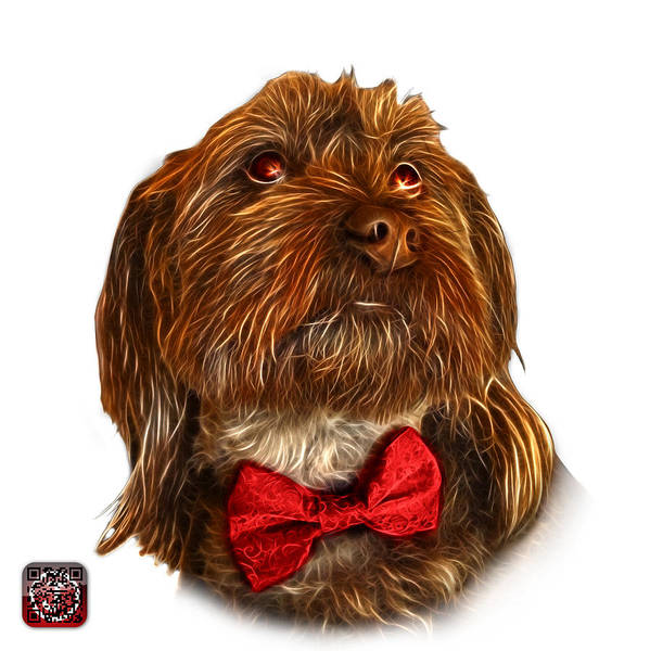 Painting - Schnoodle Pop Art - 3687 by James Ahn