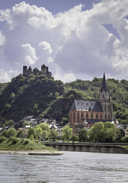 Wall Art - Photograph - Schoenburg Castle And The Church Of Our Lady  by Teresa Mucha