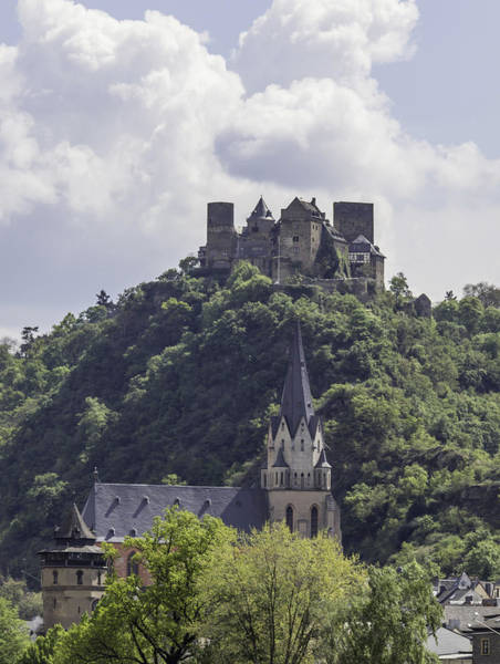 Wall Art - Photograph - Schoenburg Castle And The Red Church by Teresa Mucha