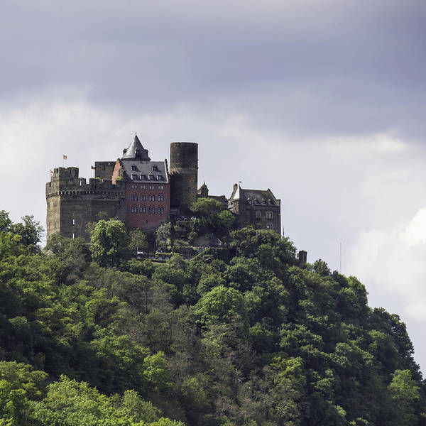 Wall Art - Photograph - Schoenburg Castle Squared by Teresa Mucha