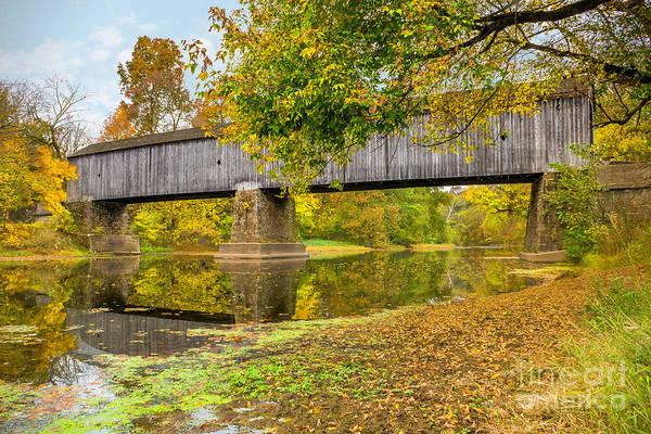 Photograph - Schofield Bridge Over The Neshaminy by Nick Zelinsky