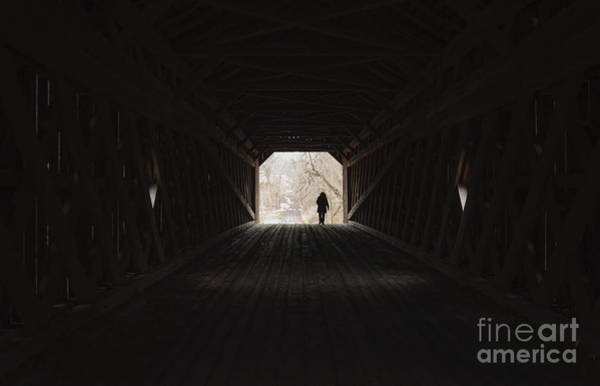 Photograph - Schofield Ford Covered Bridge by Debra Fedchin
