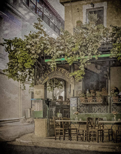 Photograph - Athens, Greece - Scholarcheion by Mark Forte