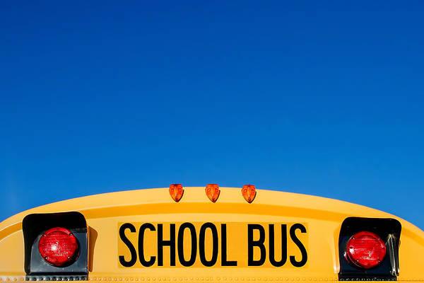 School Photograph - School Bus Top by Todd Klassy