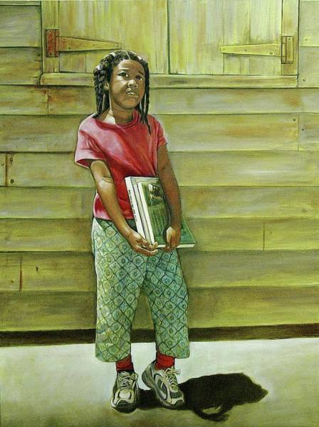 Sneakers Painting - School Daze by Curtis James