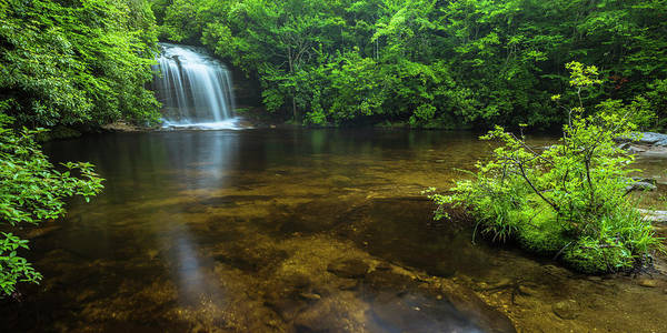 Photograph - School House Falls Panorama by Ranjay Mitra