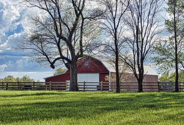 Photograph - Schooler Road Barn by Cricket Hackmann