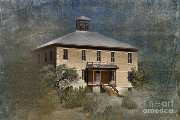 Wall Art - Photograph - Schoolhouse Days by Sandra Bronstein