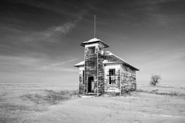 Photograph - School's Out In Black And White by Todd Klassy