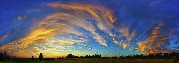 Wall Art - Photograph - Schoolyard Sunset 1 by ABeautifulSky Photography by Bill Caldwell