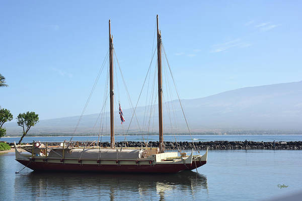 Photograph - Schooner At Rest by Paulette B Wright