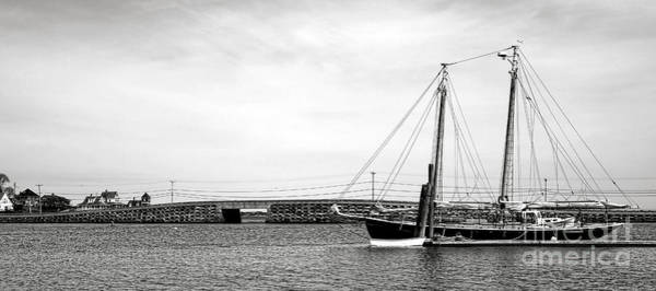 Wall Art - Photograph - Schooner At The Cribstone Bridge by Olivier Le Queinec