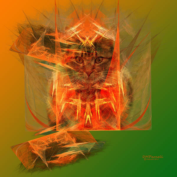 Conundrum Digital Art - Schrodingers Box Was Carbboard by Diane Parnell