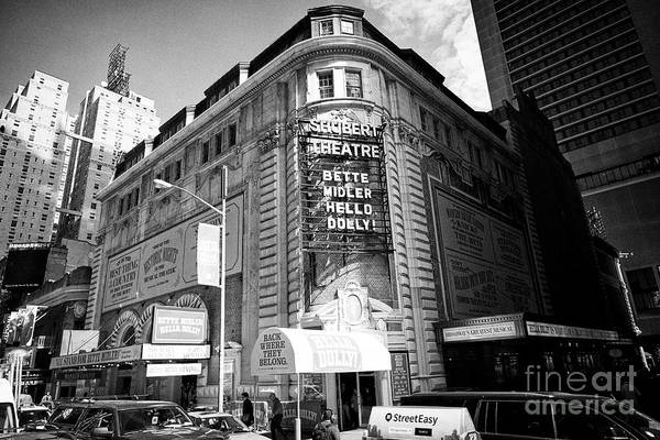 schubert theatre featuring hello dolly New York City USA Art Print