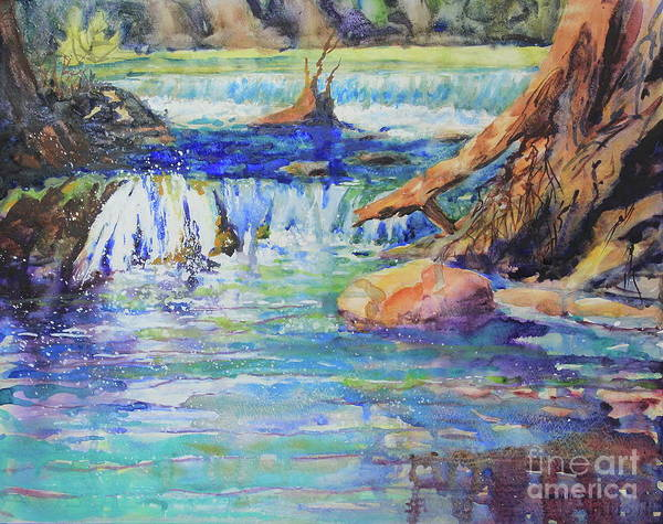 Central Texas Painting - Shumacher Crossing by Marsha Reeves