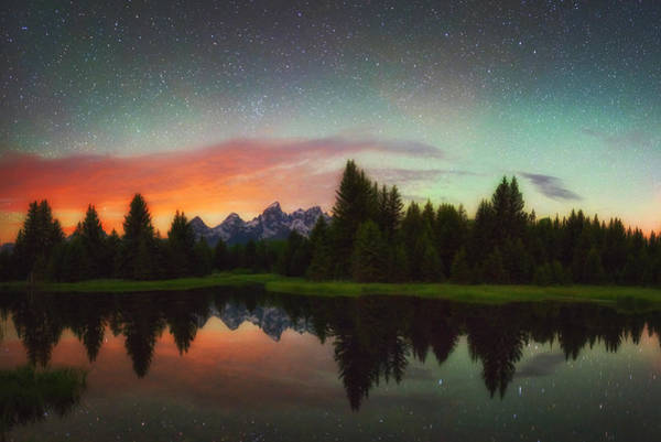 Photograph - Schwabacher Heavens by Darren  White