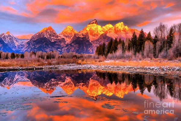 Photograph - Schwabacher Morning Rainbow by Adam Jewell