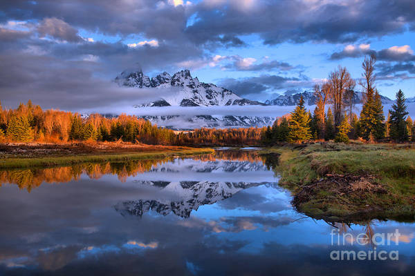 Photograph - Schwabacher Spring Morning Sunrise by Adam Jewell