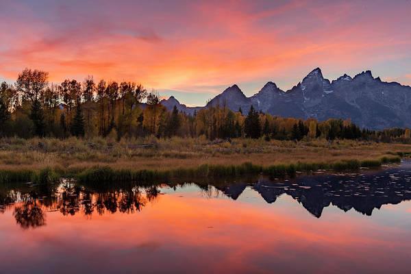 Photograph - Schwabacher Sunset 2 by D Robert Franz
