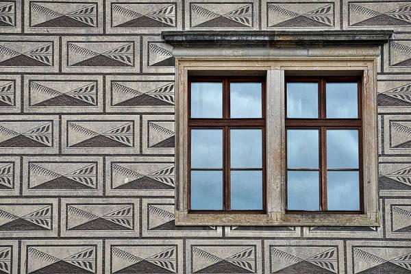 Photograph - Schwarzenberg Palace Window Reflections - Prague by Stuart Litoff