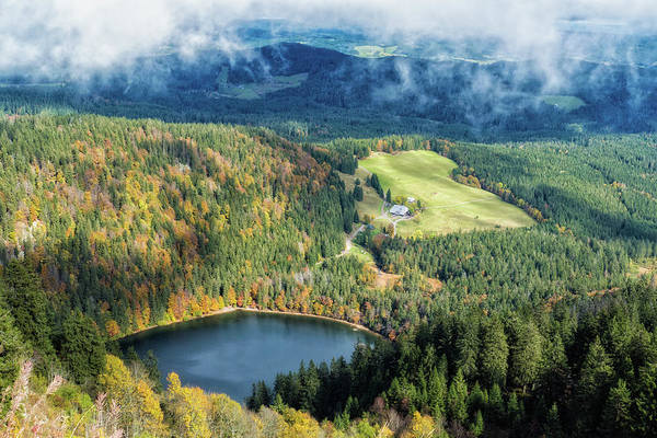 Photograph - Schwarzwald Black Forest Feldsee Germany by Matthias Hauser