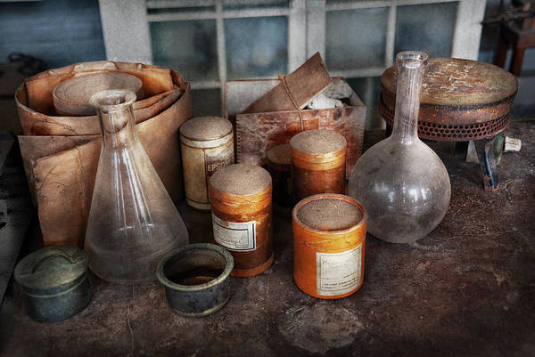 Photograph - Science - Chemist - Ready To Experiment by Mike Savad