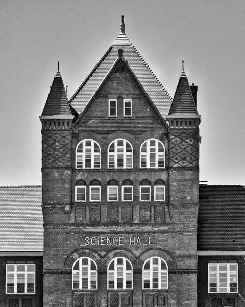 Photograph - Science Hall Bw - Uw Madison - Wisconsin by Steven Ralser