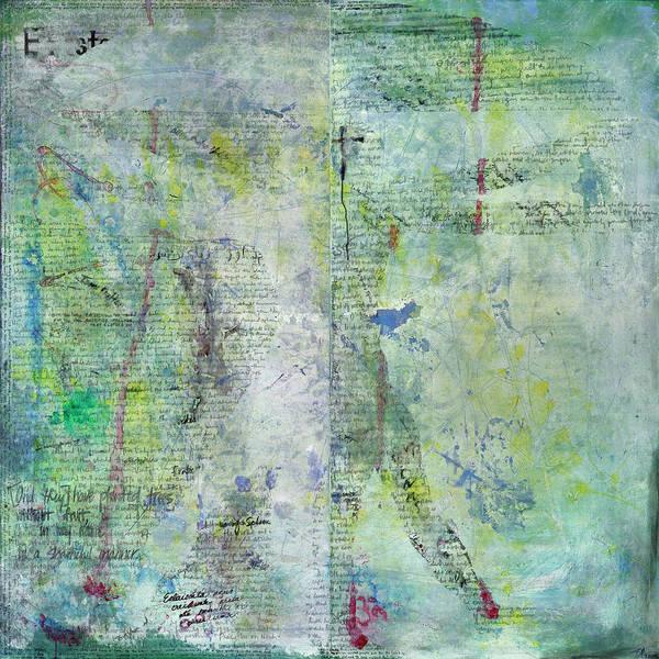 Agnostic Painting - Science Vs. Religion by Steve Park