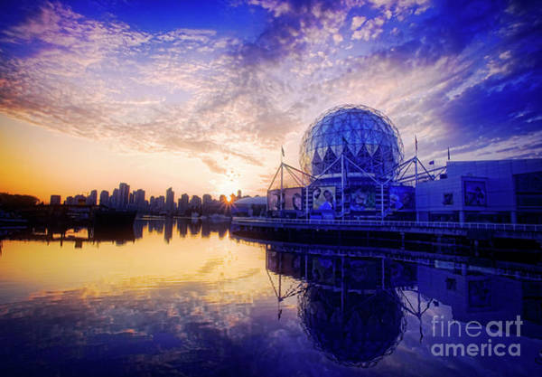 Metro Vancouver Wall Art - Photograph - Science World by Scott Kemper