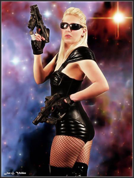 Photograph - Scifi Heroine by Jon Volden