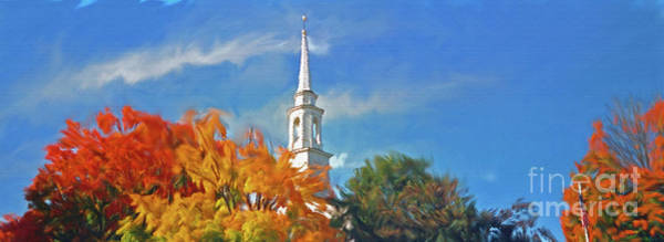 Wall Art - Painting - Scituate Autumn by Diane E Berry