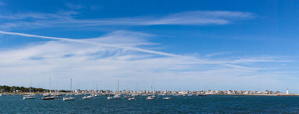Photograph - Scituate Harbor Panorama 3 by Brian MacLean